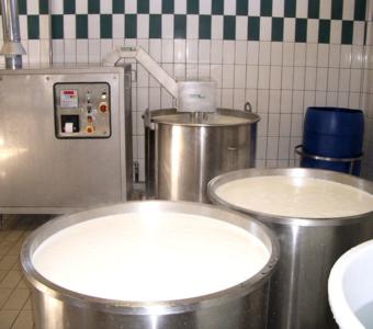 Дезенцано - Молоко обрабатывается