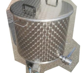TI-150.5 - Tino inox 150 litri - 150 Liters S.S. Vat